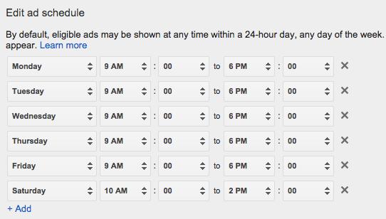 display-ad-schedule